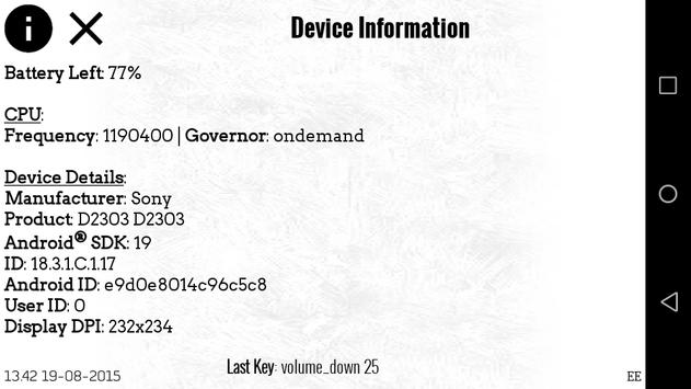 Device Information apk screenshot