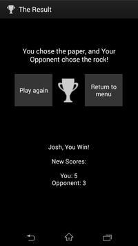 Roshambo: Rock Paper Scissors! apk screenshot