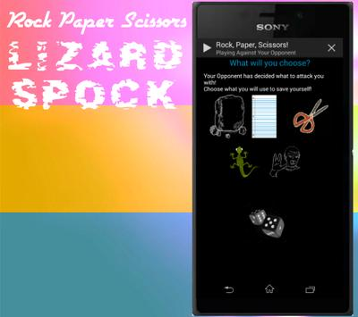 Roshambo: Rock Paper Scissors! poster