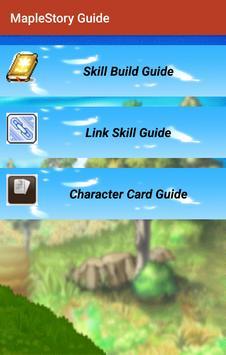 Guide for MapleStory poster