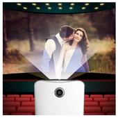 Video Projector Simulator VR icon
