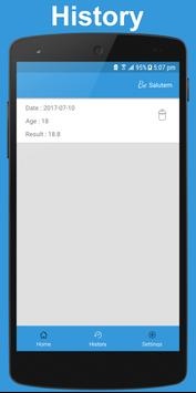 Salutem - BMI Calculator for Adult and Child screenshot 6