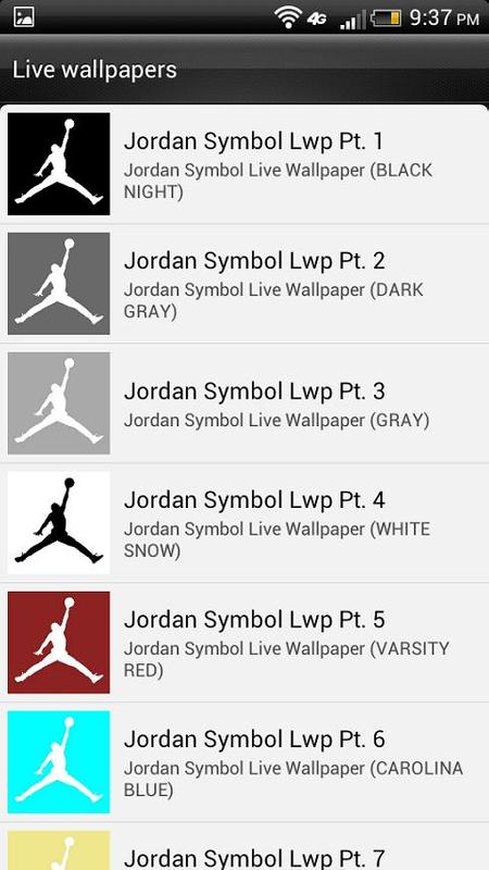 Retro Jordan Hd Live Wallpaper Apk Download Free Entertainment App