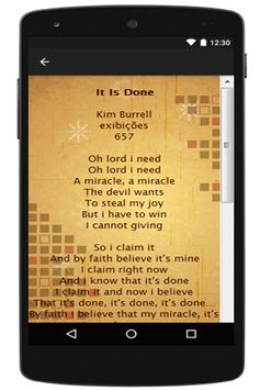 Kim Burrell Lyrics apk screenshot