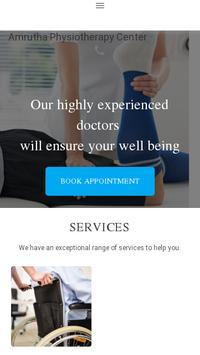 Amrutha Orthopaedic Clinic poster