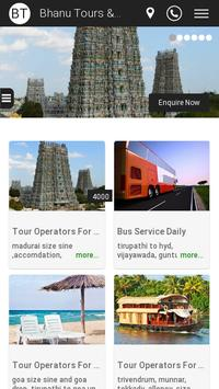 Bhanu Travels screenshot 1