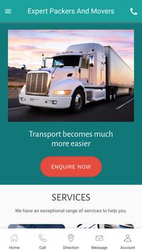 Expert Packers And Movers screenshot 1