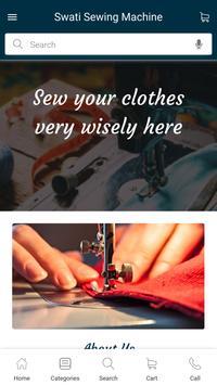 Swati Sewing Machine poster