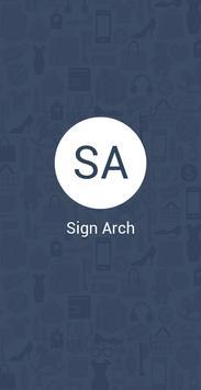 Sign Arch screenshot 1