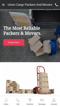 Union Cargo Packers And Movers poster