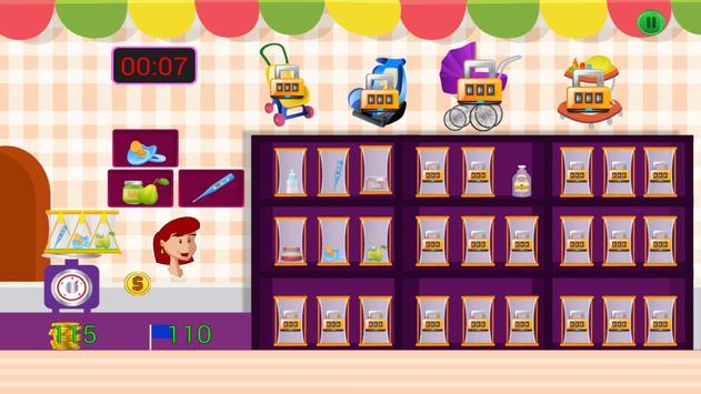 Babies Store Games screenshot 5