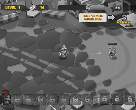 Zombie Tower Defence screenshot 5