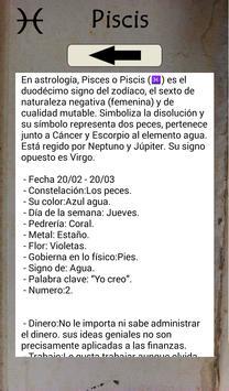 El Zodiaco - Descubre tu signo apk screenshot