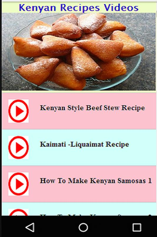 Kenyan recipes videos descarga apk gratis estilo de vida kenyan recipes videos captura de pantalla de la apk forumfinder Choice Image