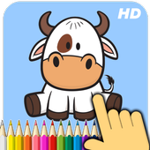 Install Game android Animals coloring book APK free