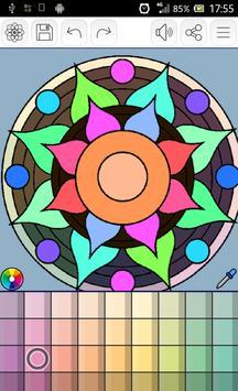 Mandalas coloring pages screenshot 12