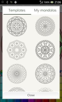 Mandalas coloring pages screenshot 13