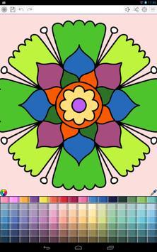 Mandalas coloring pages screenshot 20