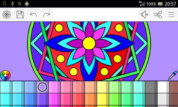 Mandalas coloring pages screenshot 22