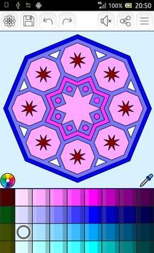Mandalas coloring pages screenshot 23