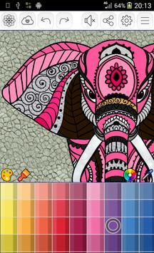 Mandalas coloring pages screenshot 2