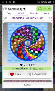 Mandalas Coloring Pages Apk Screenshot