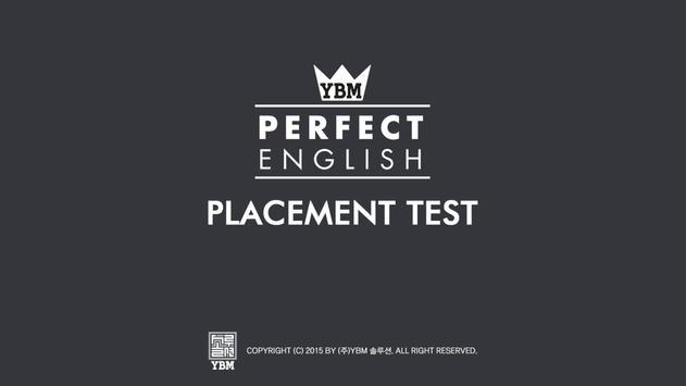 YBM Placement Test screenshot 5