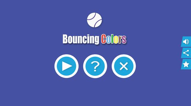 Bouncing Colors poster
