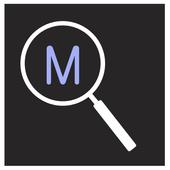 Magnifier - Magnifier + flash icon