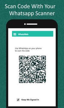 Whatscan untuk web - WhatsCode QR Pembaca screenshot 3