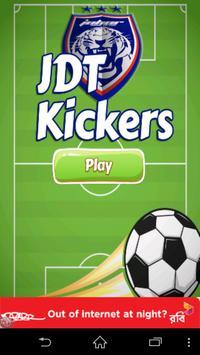 JDT Football Kickers Game poster