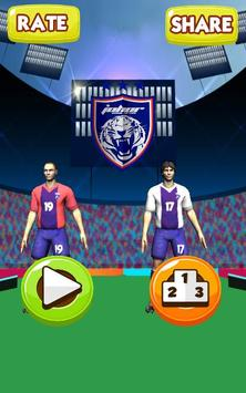 JDT Juggling With Lucho & Amri poster