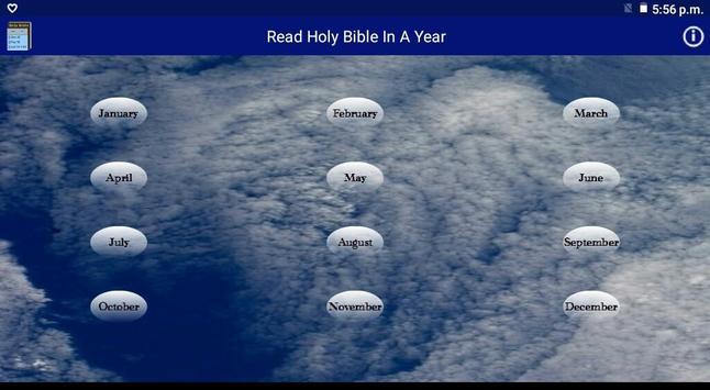 Read Holy Bible In A Year apk screenshot