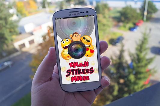 Emoji Stikers Maker poster