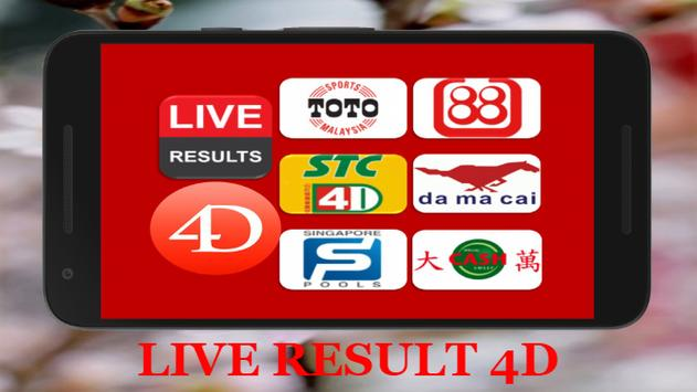 4D Live Results : Malaysia & Singapore 1 4 (Android) - Download APK