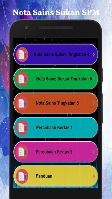 Nota Sains Sukan Spm For Android Apk Download