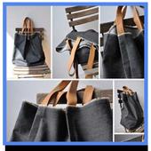 Jeans Bag Concept icon