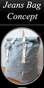 Jeans Bag Concept poster