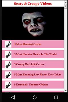 Scary & Creepy Videos screenshot 4