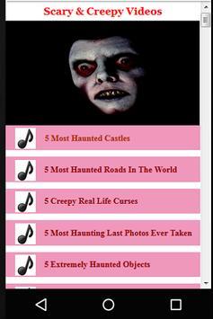 Scary & Creepy Videos apk screenshot