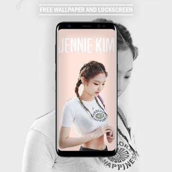 Jennie Kim Blackpink Wallpaper KPOP Fans HD screenshot 3