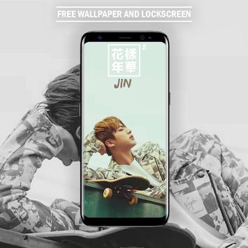 BTS Jin Wallpaper HD for KPOP Fans screenshot 4