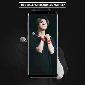 BTS Jin Wallpaper HD for KPOP Fans screenshot 1