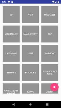 Kanye West Soundboard poster