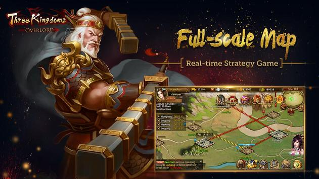 Three Kingdoms: Overlord скриншот приложения