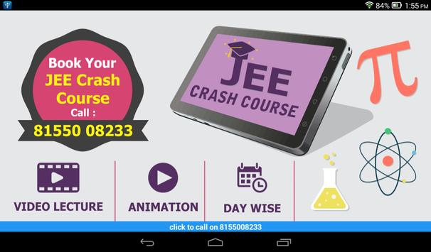 JEE Crash Course poster