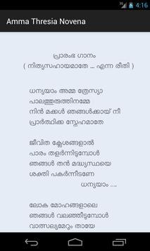 Amma Thresia Novena poster