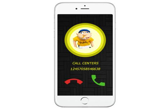 fack call from jeffy pappet apk screenshot