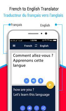 French to English Translator ( Learn French ) screenshot 2
