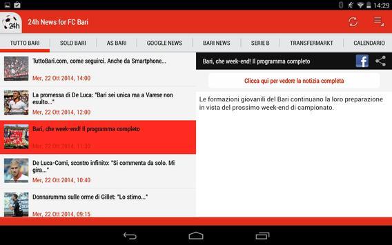 Bari 24h apk screenshot